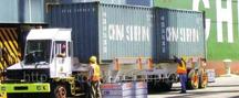 Вывоз контейнеров автотранспортом